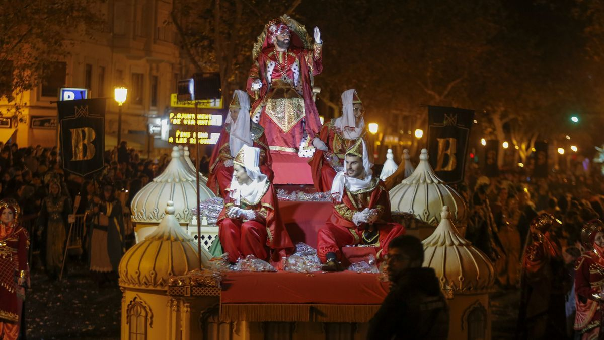 Imagen de la Cabalgata de Reyes de 2020.