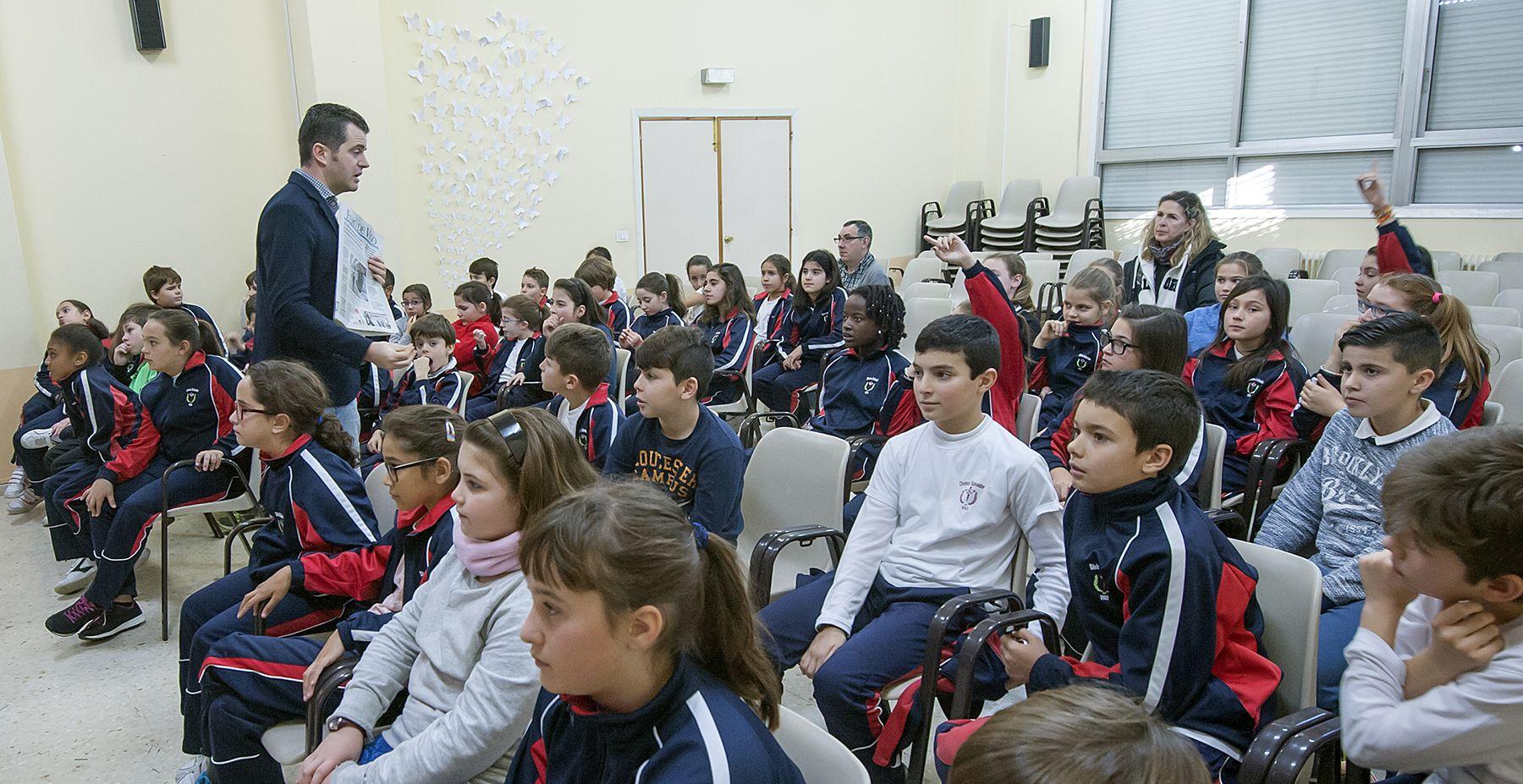Visita a Faro de Vigo del CPR Plurilingüe Divino Salvador el curso 2015-16