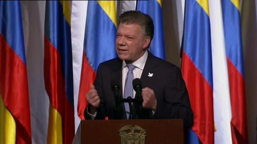 """Santos: """"Las FARC, como grupo armado, desaparecerán en 150 días"""""""