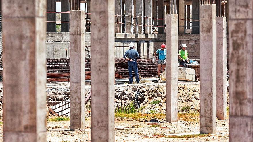 La construcción capea la crisis y suma ya más empresas que antes del covid