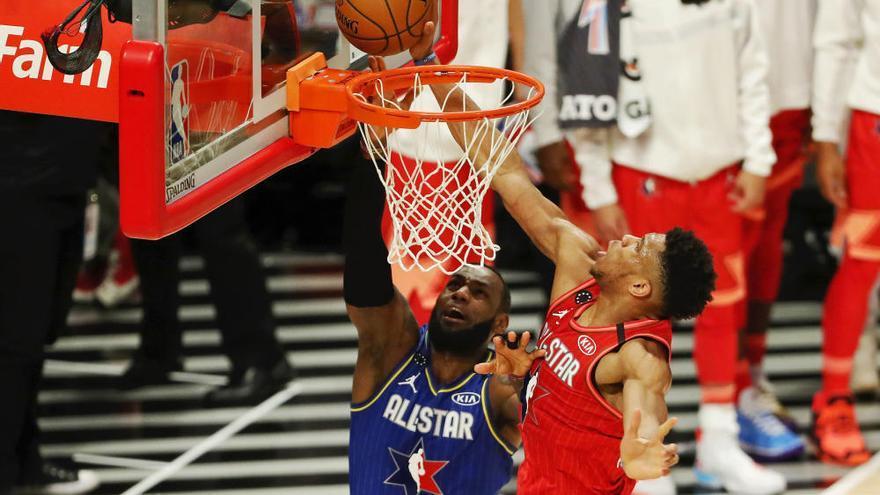 Davis da el triunfo al  Equipo LeBron en un All Star dedicado a Bryant