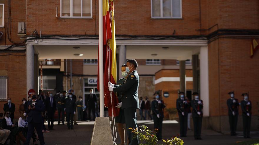 GALERÍA | Zamora y su Guardia Civil celebran así el día del Pilar