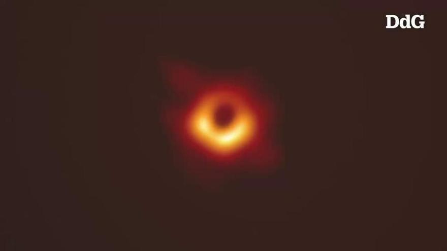 La primera fotografia d'un forat negre confirma la teoria de la relativitat d'Einstein