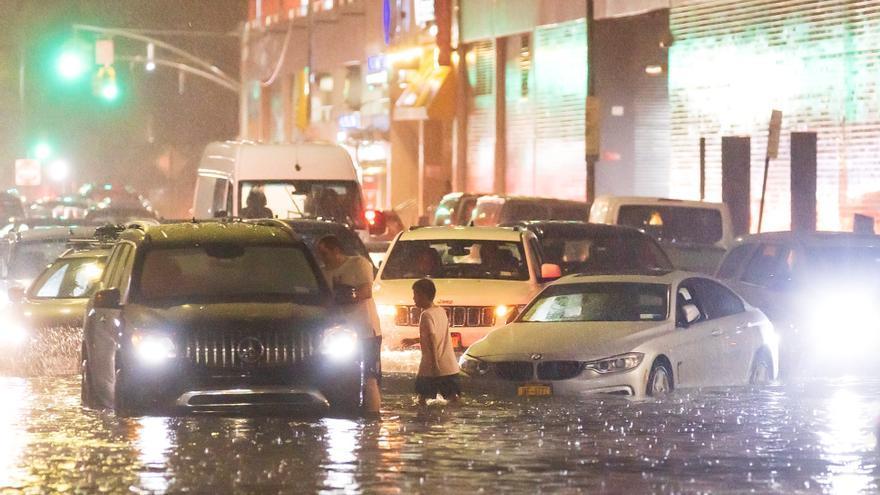 Nova York declara l'estat d'emergència per la tempesta Ida