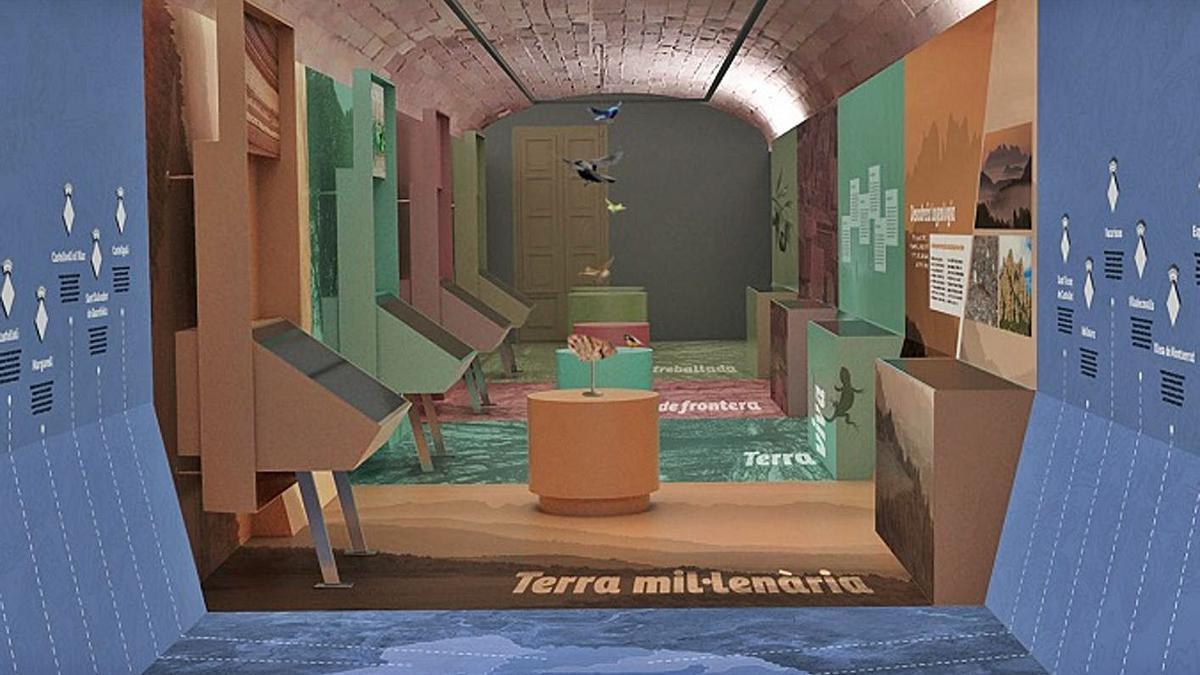 Projecte de com podria ser el futur museu de Cal Puigjaner | AJ OLESA DE MONTSERRAT