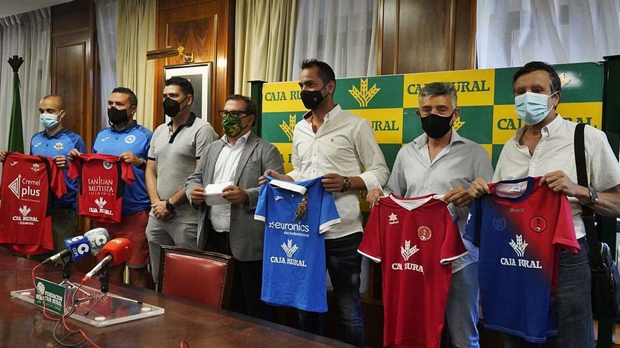El CD Villaralbo, punto de cohesión del fútbol base de Zamora