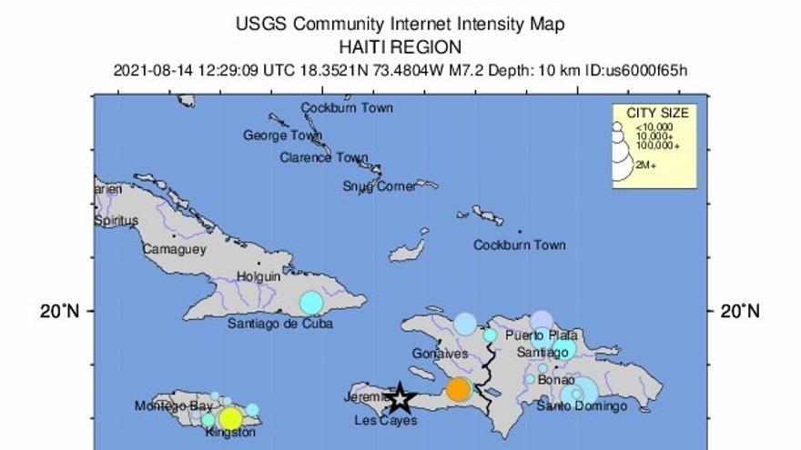 """Primer ministro de Haití califica de """"dramática"""" la situación tras el seísmo"""