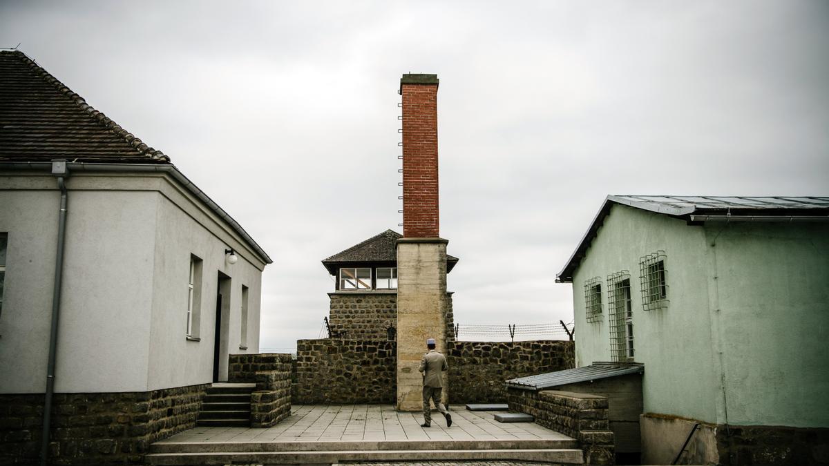 Campo de concentración Mauthausen.