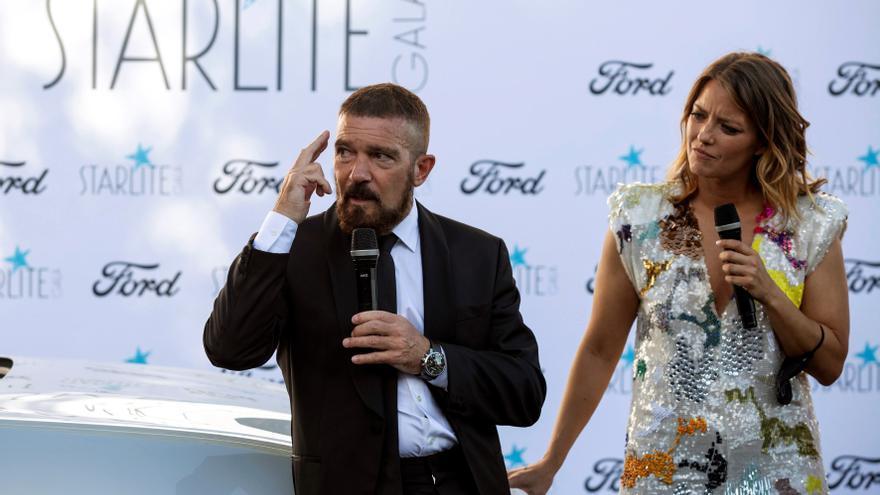 Celebridades apoyan la gala de Starlite en Marbella