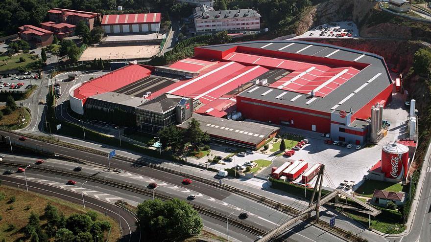 La I+D+i, clave sostenible en la planta coruñesa de Coca-Cola