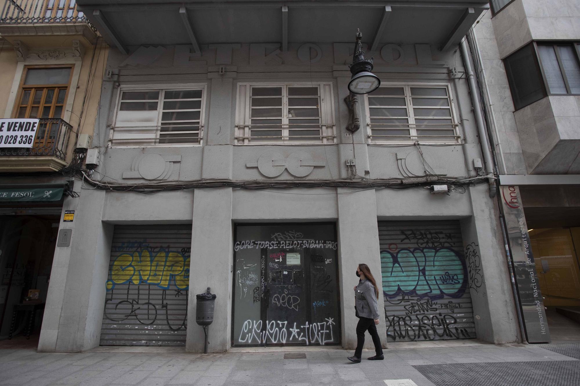 ¿Adiós al edificio del Cine Metropol?