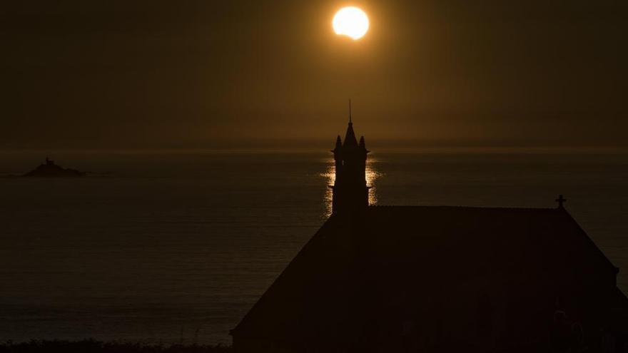 Así ha sido el eclipse solar