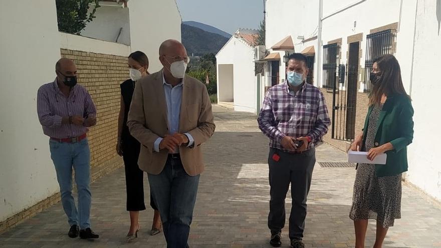 La Junta destina casi 300.000 euros en dos años a obras en Nueva Aljaima