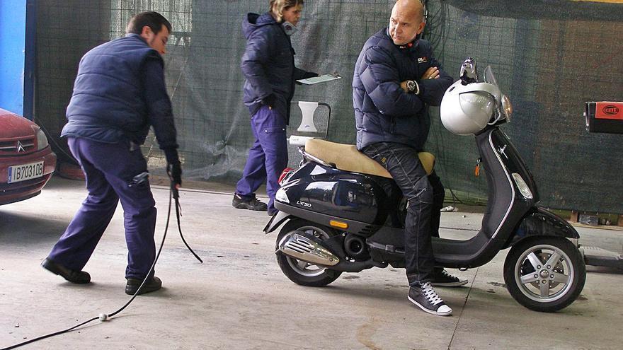 Retrasos hasta el mes de abril para pasar la ITV de motos en Mallorca