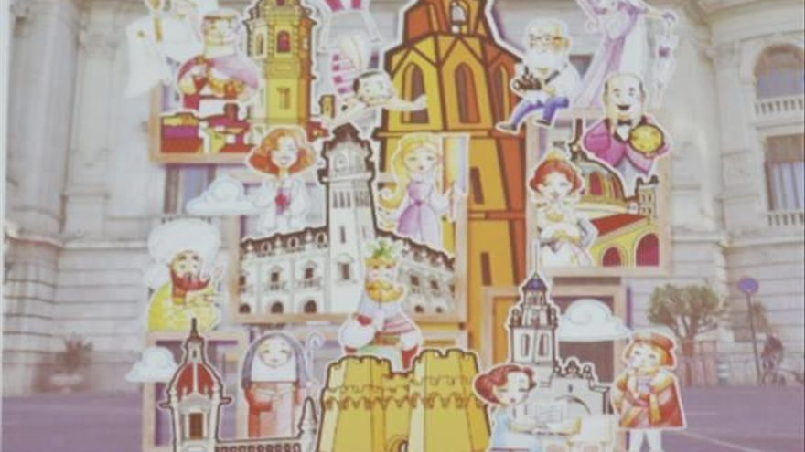 Ceballos y Sanabria vuelven a la infantil con una galería de valencianos célebres