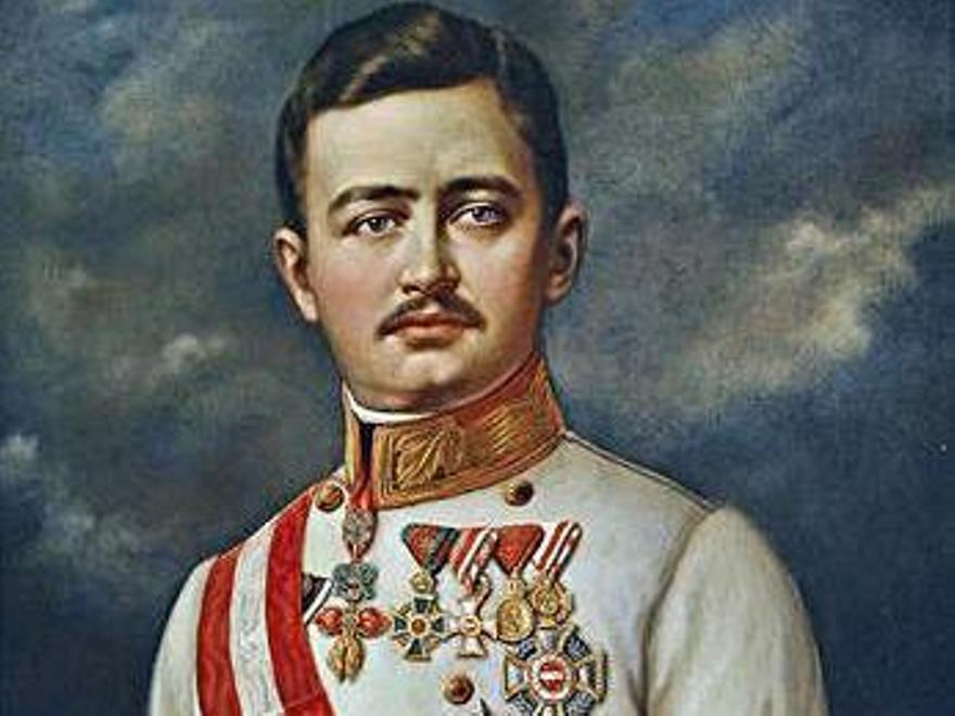 Carlos I de Austria e IV de Hungría (1887-1922).