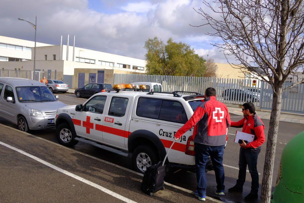 Psicólogos de Cruz Roja llegan al instituto de Vil