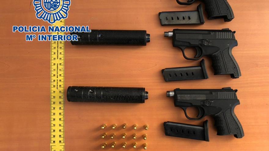 Desmantelado un entramado criminal de origen polaco que dirigía desde Alicante una extensa red de tráfico de drogas y armas