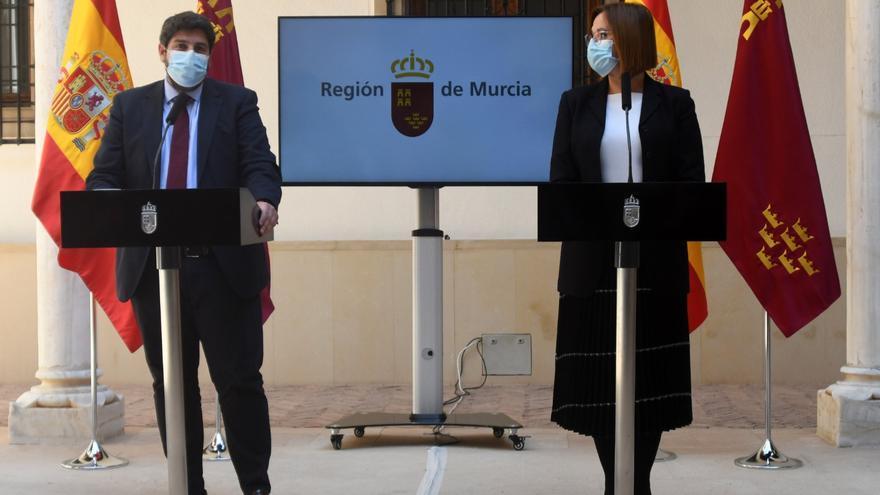 ¿Estás de acuerdo con que tres diputados de Cs hayan mantenido el Gobierno de López Miras en la Región?