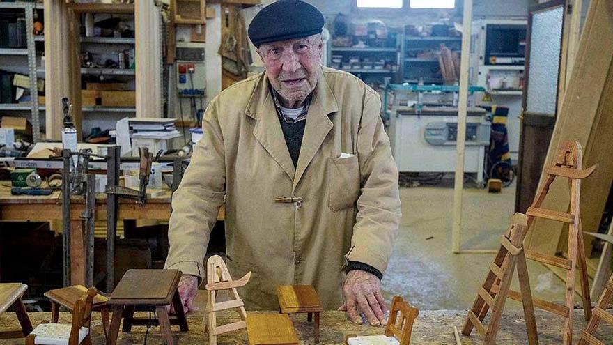 """100-Jähriger auf Mallorca: """"Die Arbeit macht mich glücklich"""""""