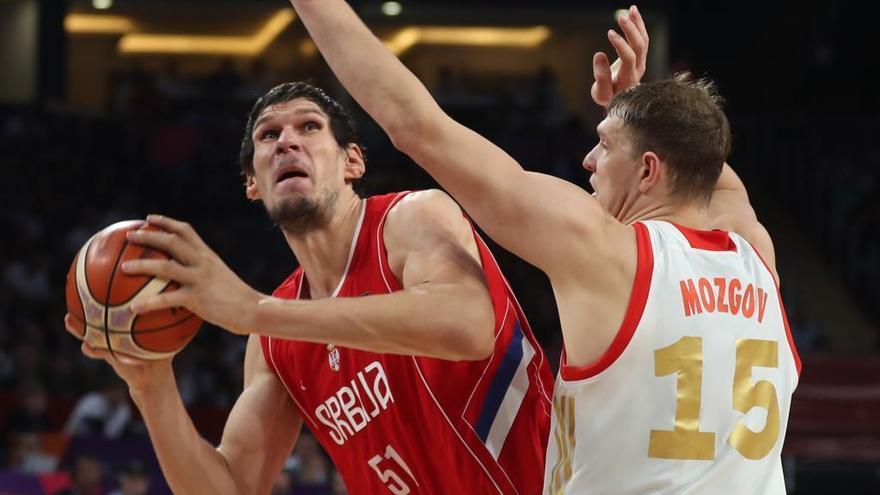 Serbia alcanza la final y Rusia disputará el bronce a España