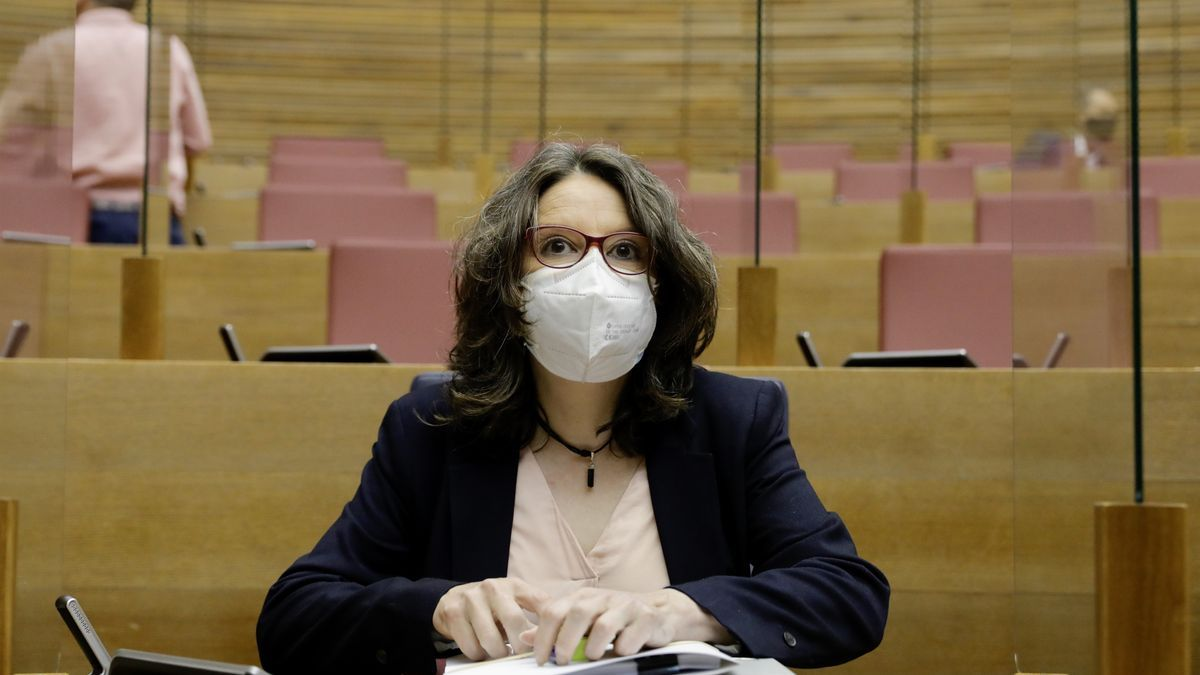 La vicepresidenta de la Generalitat, Mónica Oltra