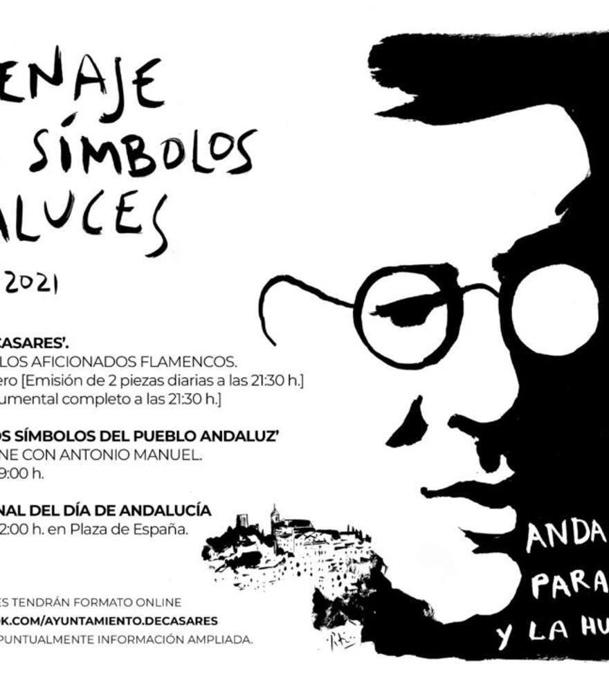Homenaje a los símbolos Andaluces