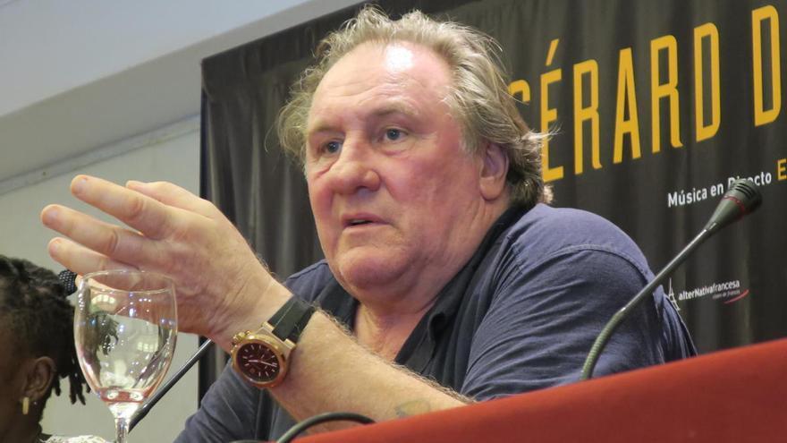 Gérard Depardieu protagoniza un nuevo escándalo