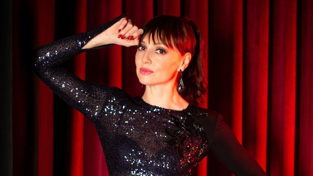 La actriz Cristina Castaño.