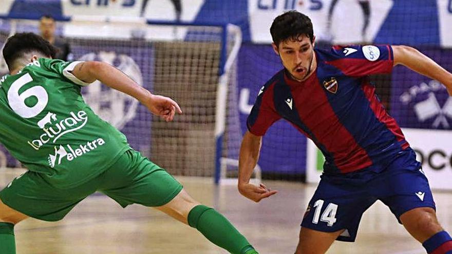 El Levante UD FS jugará con público en Paterna
