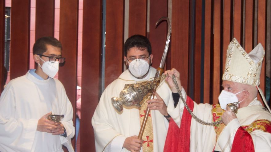El arzobispo Antonio Cañizares bendice la nueva capilla Venerable Inés de Moncada