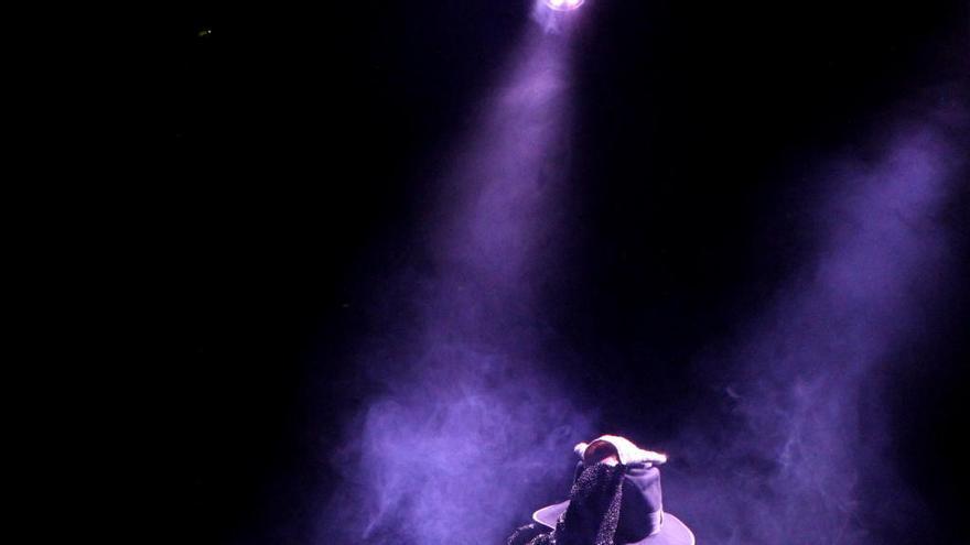 L'esperit de Michael Jackson reviu al Casino de Peralada
