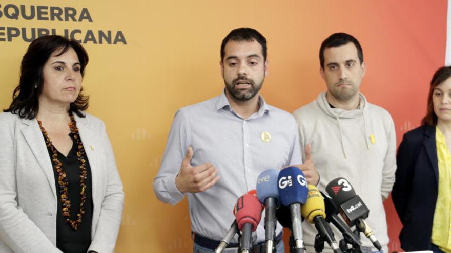 ERC descarta un pacte d'esquerres amb Guanyem Girona i el PSC