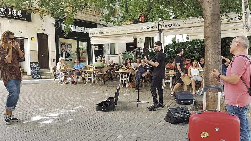 Cort vetará la música de artistas callejeros en Oms, sa Feixina, Sant Magí y la Rambla