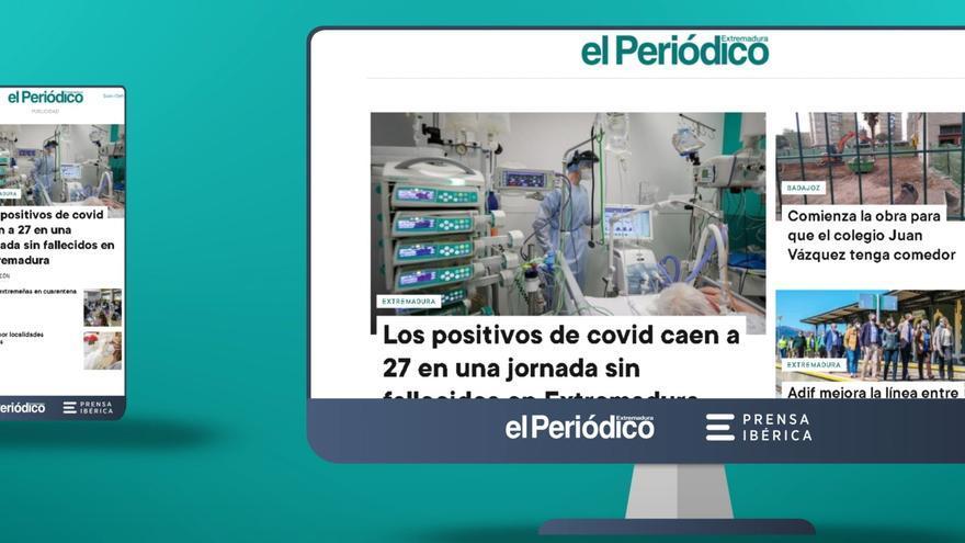 El PERIÓDICO EXTREMADURA estrena nueva web con un diseño más visual e intuitivo