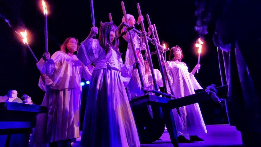 La ópera María Soliña agota las entradas y se organiza una segunda función