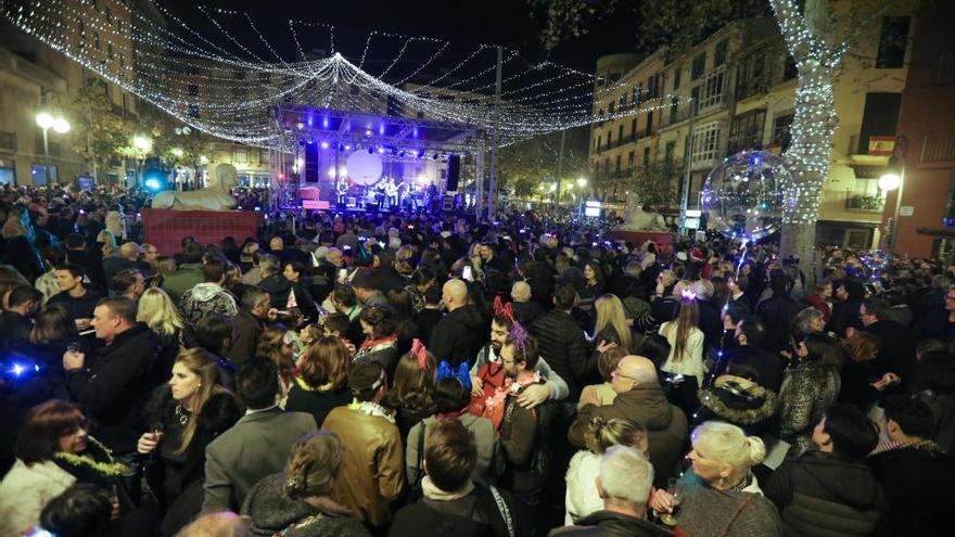 Molts d'anys: So hat Mallorca das Jahr 2018 begrüßt