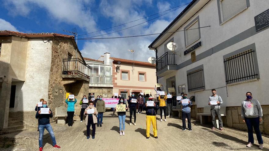 VÍDEO | La Zamora rural exige una sanidad digna
