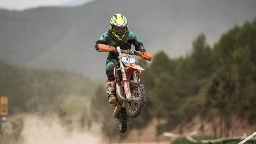 'Pedrito' Godoy, en moto desde muy niño