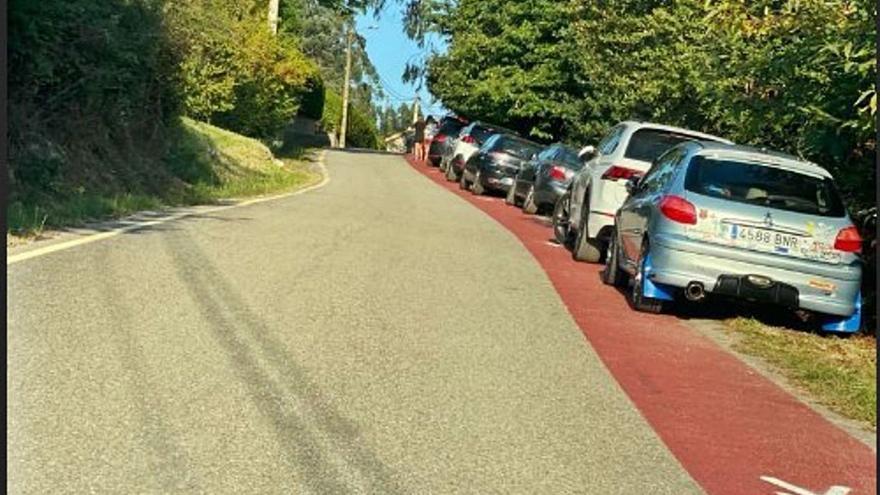 Continúan los problemas de aparcamiento en Viñó a pesar de la presión Policial