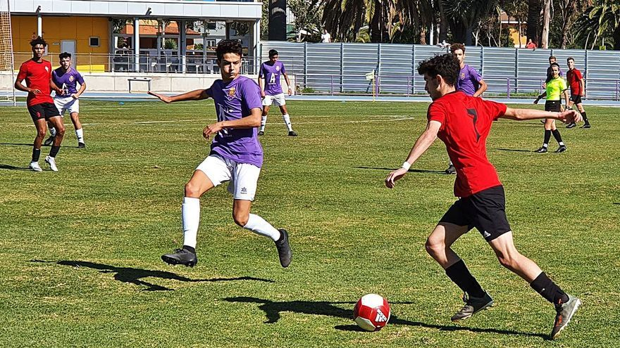 Llega la primera victoria de la temporada para el CD Laguna ante el Mensajero (3-0)
