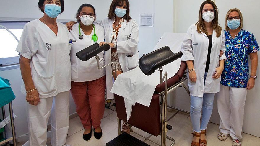 Da a luz en la consulta de una matrona que daba preparación al parto en un centro de salud de Sant Vicent del Raspeig