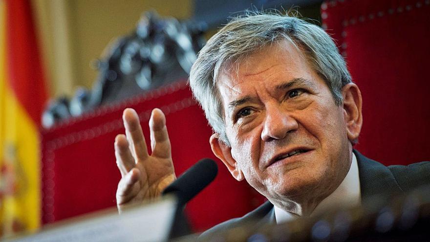 Enrique Barón, expresidente del Parlamento Europeo, reflexiona sobre la España federal