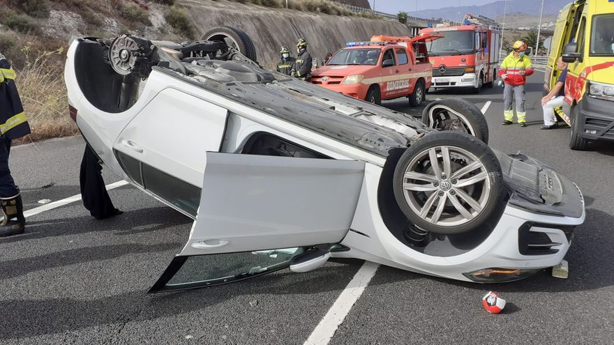 Canarias registra 348 accidentes con coches a la fuga en los últimos 5 años