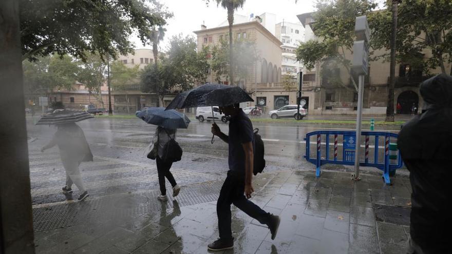 Radar meteorológico | Mallorca, en aviso naranja por lluvias que podrían ser torrenciales