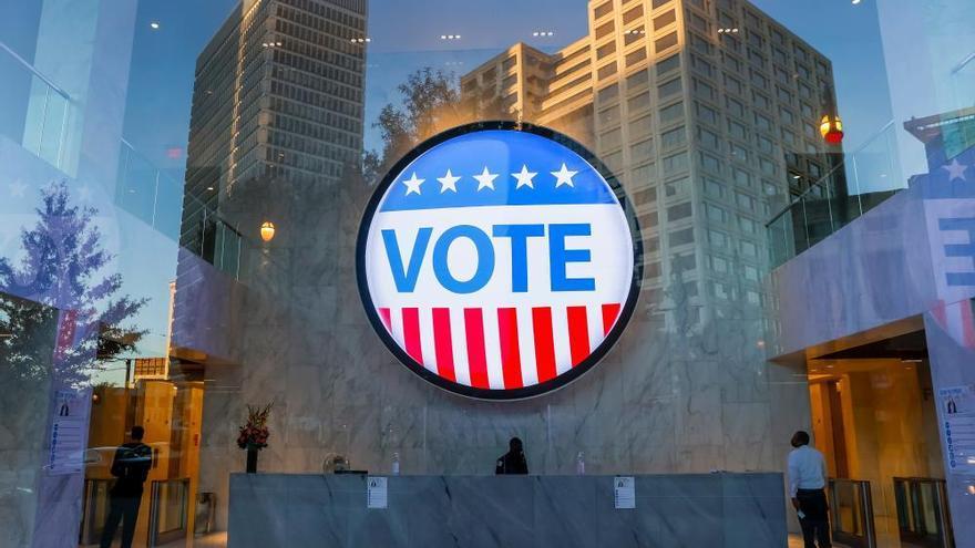 La jornada electoral de Estados Unidos 2020, en imágenes
