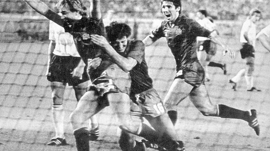 Cuando el Sporting también jugaba la Eurocopa