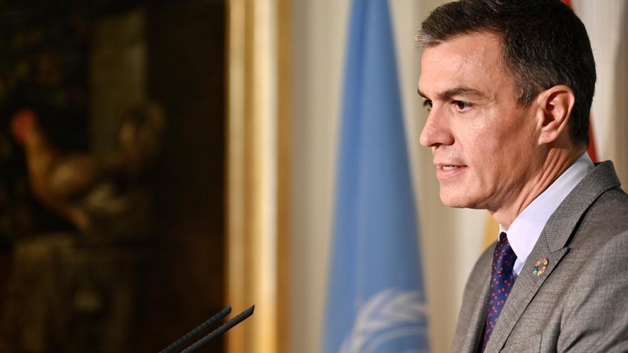 Pedro Sánchez promete donar 30 millones de vacunas y vuelve a pedir una suspensión temporal de las patentes