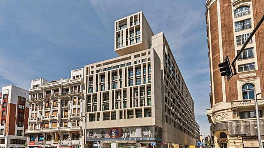 Grupo Caamaño vende su edificio de la Gran Vía a un inversor americano