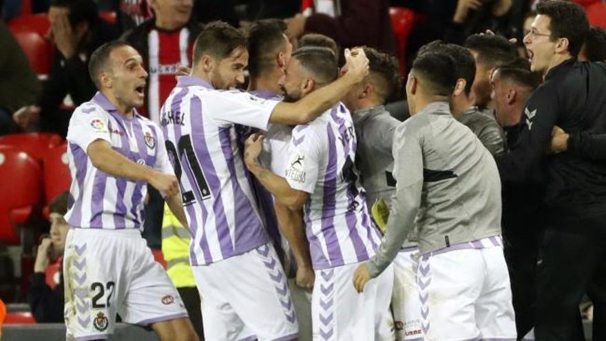 El Valladolid empata sobre la bocina ante el Athletic Club